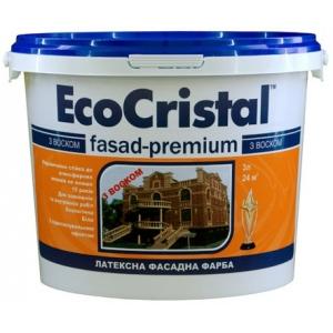 Фасадная краска с воском Ирком EcoCristal Fasad-Premium ИР-132