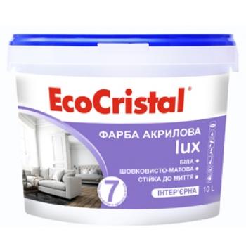 Шелковисто-матовая краска Ирком EcoCristal Lux-7 ИР-237